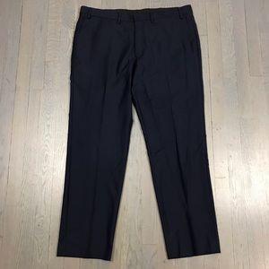 Ryan Seacrest Distinction Navy Dress Formal Pants